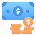 accounting, banking, business, cash, finance, money, payment icon