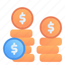 accounting, banking, business, coin, dollar, earning, finance icon