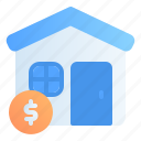 accounting, banking, business, finance, home, loan, mortgage icon