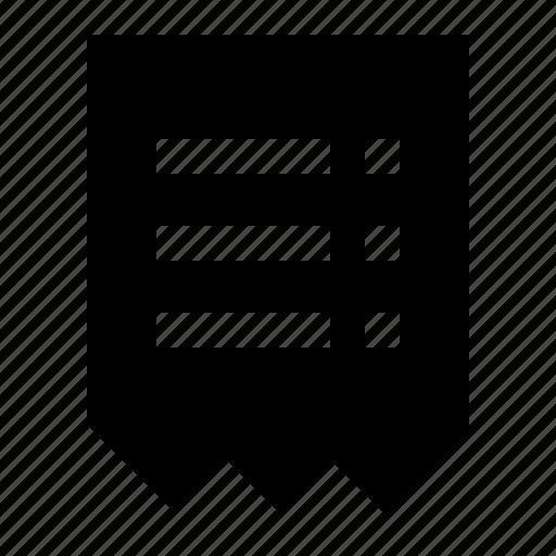 bill, document, finance, invoice, reciept icon