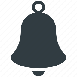 alarm bell, alert, bell, church bell, school bell icon