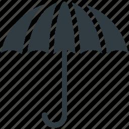 canopy, parasol, rain protection, sunshade, umbrella icon