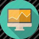 analysis, analytics, banking, business, chart, computer, data, diagram, display, finance, financial, graph, imac, internet, management, market, marketing, monitor, pc, report, screen, search, seo, statistics, stock, web icon