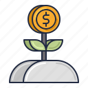 bank, loan, microloan icon