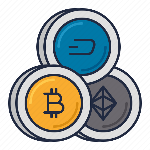 Bitcoin, cryptocurrency, dash icon - Download on Iconfinder