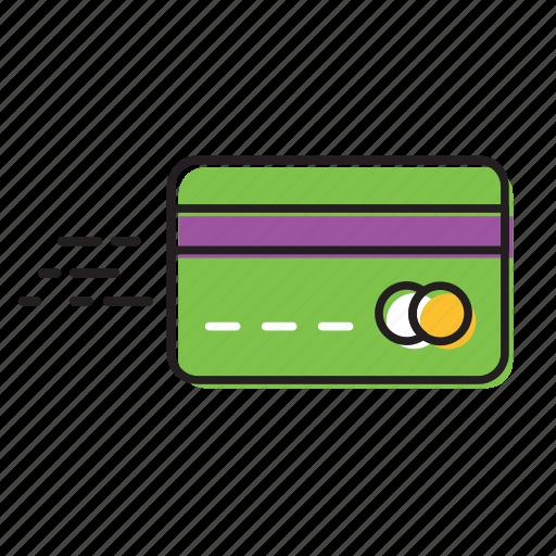 card money, credit card, debit card icon