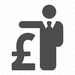 british, businessman, gbp, insurance, loan, pound icon