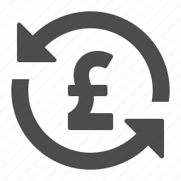 currency, exchange, finance, gbp, money, pound, rate icon