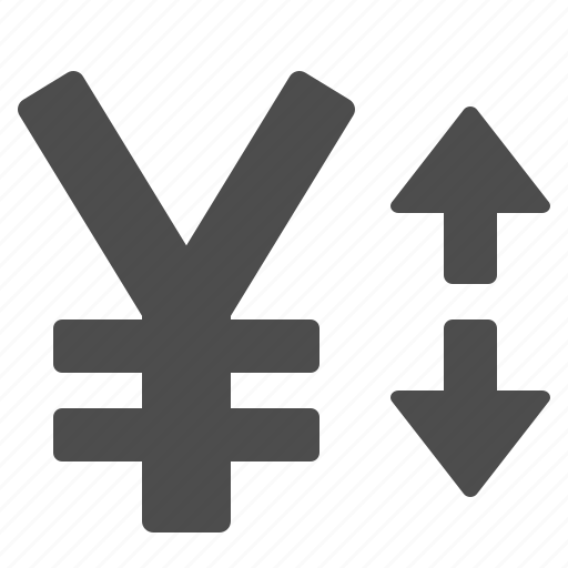 currency, exchange rate, yen, yuan icon