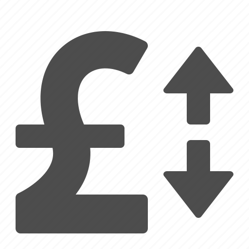 currency, exchange rate, finance, money, pound icon
