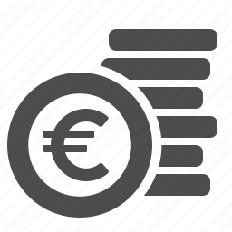 cent, cents, coin, euro, money icon