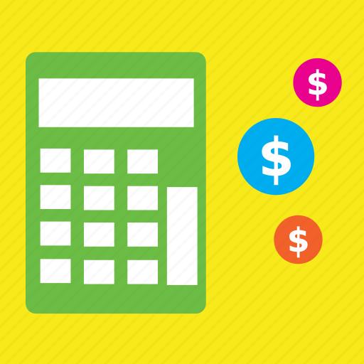 bank, basket, buy, calculate, dollar, finance, shopping icon