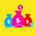 cash, currency, dollar, ecommerce, money, payment, sale icon