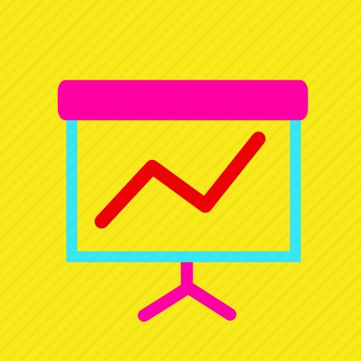 benefit, chart, color, diagram, finance, report, sale icon