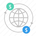 business, change, finance, global, marketing, seo icon