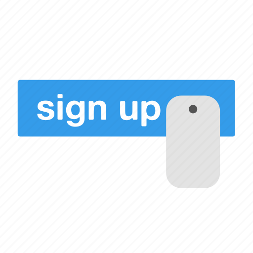 account, click, login, mouse, register, seo, sign up icon