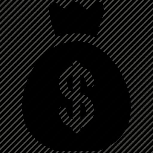bag, dollars, money, us icon icon
