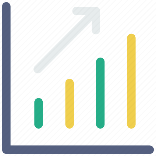 chart, line chart, results, statistics icon icon