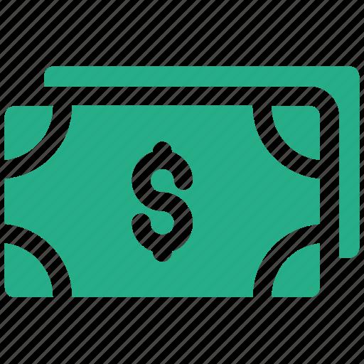 dollar, finance, note icon icon