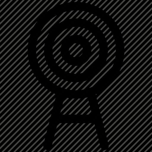 Bullseye, goal, target icon icon - Download on Iconfinder