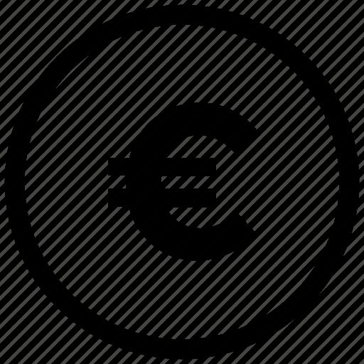 ecommerce, euro, money icon icon