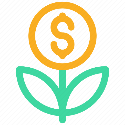 charity, coin, financial support, foundation, growth, ngo, organisation icon icon