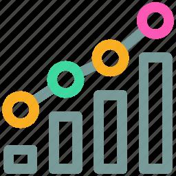 bar, chart, graph, ranking icon icon