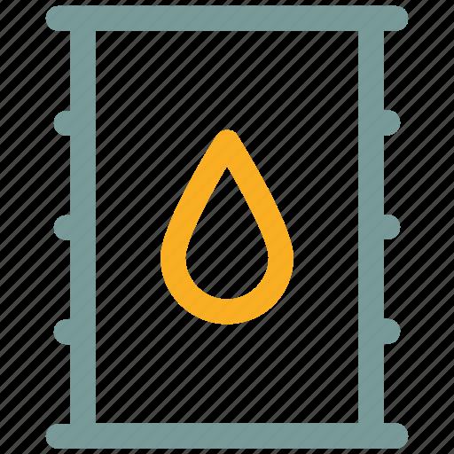 barrel, oil, petroleum icon icon