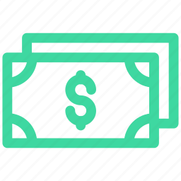 dollar, finance, note icon icon