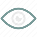 eye, face, human, vision icon icon