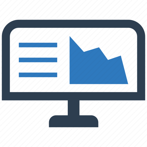business, chart, data, graph, report, reporting icon
