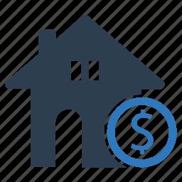 home loan, mortgage, real estate icon