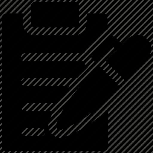board, clip, clipboard, document, file, paper, text icon icon icon