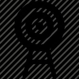 bullseye, goal, target icon icon