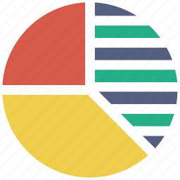 analysis, analytics, diagram, graph, pie chart, report, statistics icon icon