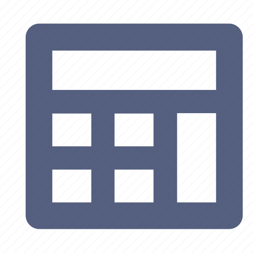 accounting, calculator, tool icon icon