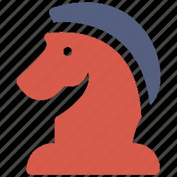 chess, game, horse icon icon