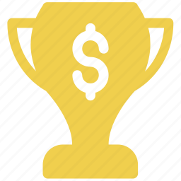 american, currency, dollar, financial, money, price, trophy icon icon