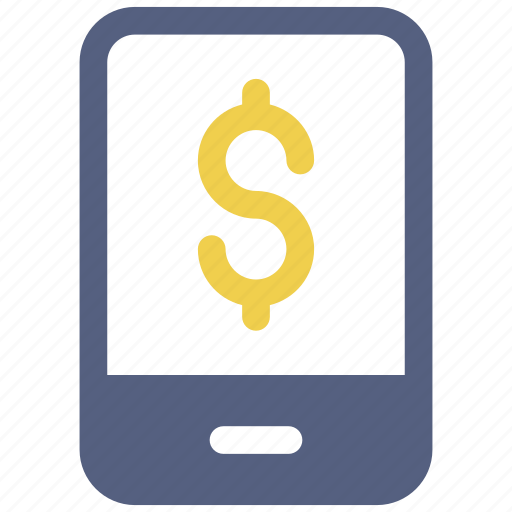Cell, dollar, mobile icon icon - Download on Iconfinder