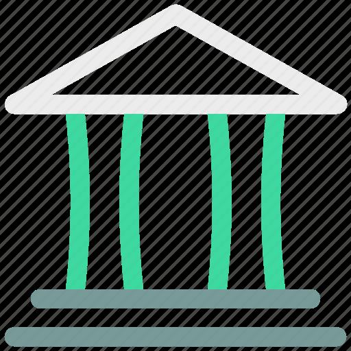 bank, building icon icon