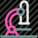 chemistry, laboratory, microscope icon icon