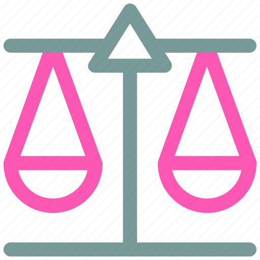 balance, justice, law, scale icon icon