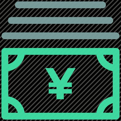 japanese, yen icon icon