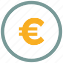 ecommerce, euro, money icon icon