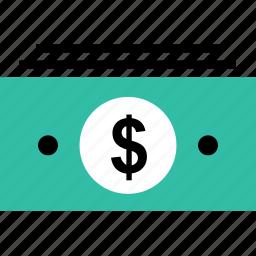 bills, finance, money, online, stack icon