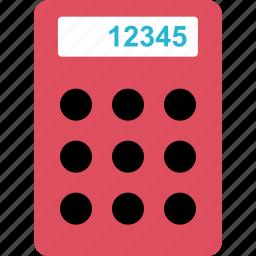 calculator, finance, money, numbers, online icon
