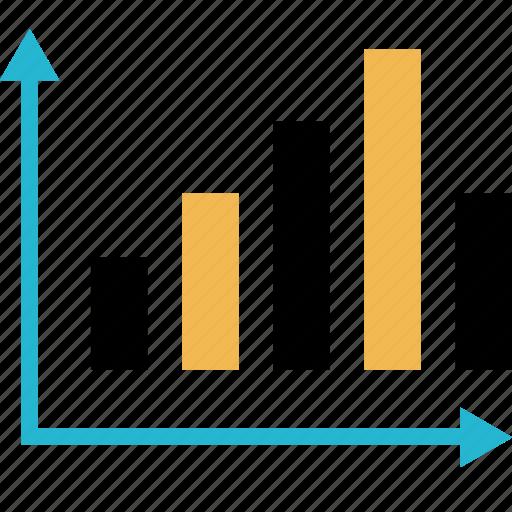bar, chart, data, finance, money, online icon