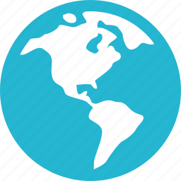 finance, globe, money, online icon