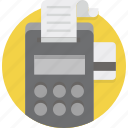 bank, bill, billing, bills, invoice, pay, payment icon