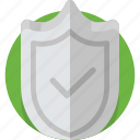 check, guard, safety, secure, security, shield icon